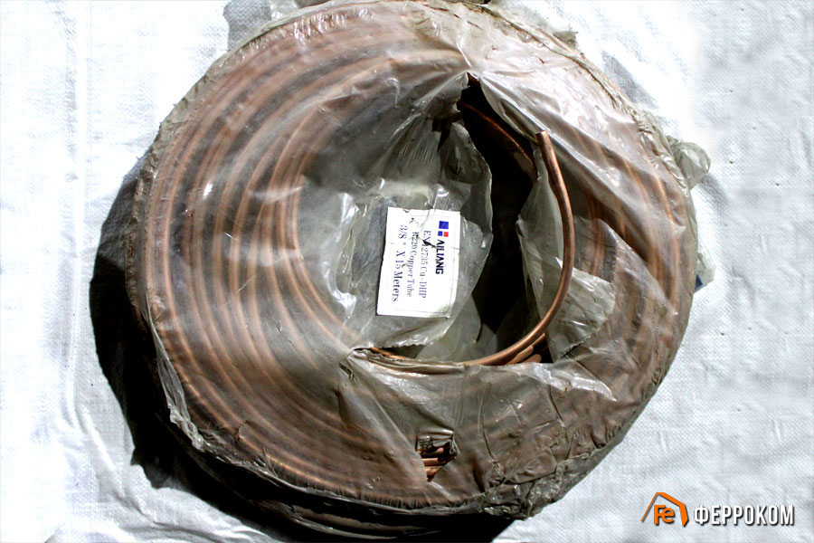 Cu-DHP R-220 Copper Tube 3''8 X 15 Метров